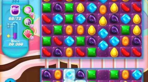 Candy Crush Soda Saga Level 384 (3rd version, 3 Stars)