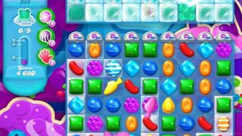 Candy Crush Soda Saga Level 615 (2nd nerfed, 3 Stars)
