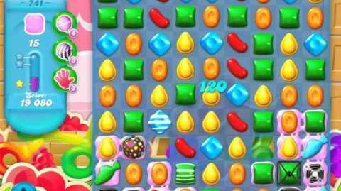 Candy Crush Soda Saga Level 741 (buffed, 3 Stars)
