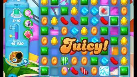 Candy Crush Friends Group SODA Level 309 NO BOOSTERS 3Stars