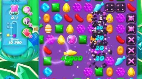 Candy Crush Soda Saga Level 1000 - NO BOOSTERS