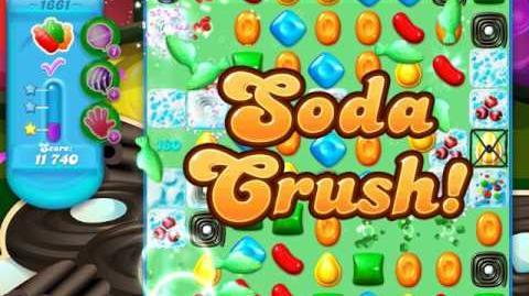 Candy Crush Soda Saga Level 1661 (3 Stars)