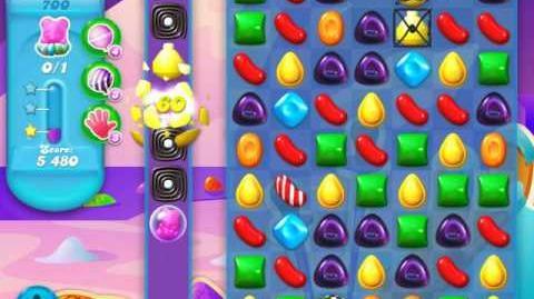Candy Crush Soda Saga Level 700 (10th version, 3 Stars)