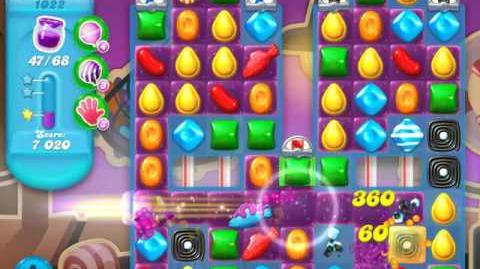 Candy Crush Soda Saga Level 1022 (2nd buffed, 3 Stars)