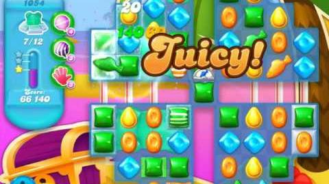 Candy Crush Soda Saga Level 1054 (buffed)