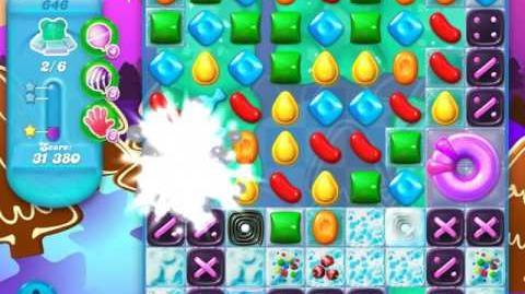 Candy Crush Soda Saga Level 646 (3rd version)