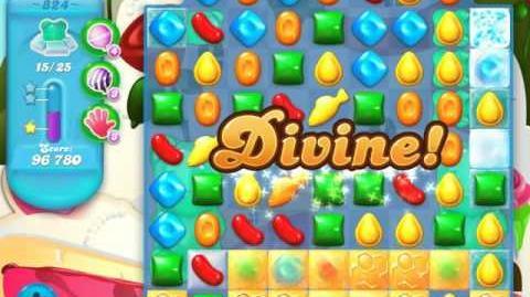 Candy Crush Soda Saga Level 824 (3 Stars)
