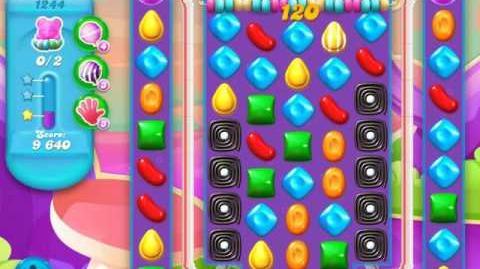 Candy Crush Soda Saga Level 1244 (nerfed)