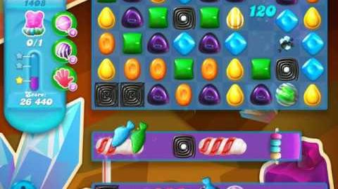 Candy Crush Soda Saga Level 1408 (2nd buffed)