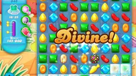 Candy Crush Soda Saga Level 845 (6th version, 3 Stars)