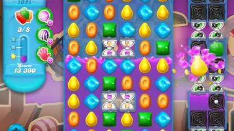 Candy Crush Soda Saga Level 1021 (2nd buffed)