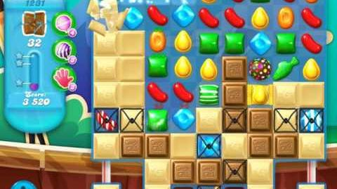 Candy Crush Soda Saga Level 1231 (2nd buffed, 3 Stars)