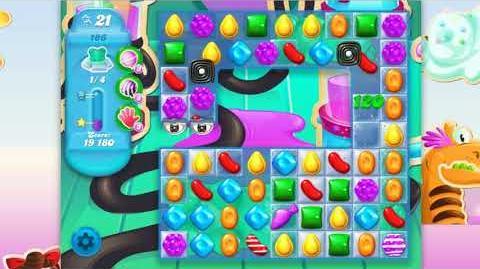 Candy Crush Soda Saga - Level 186 - No boosters