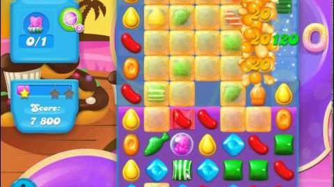 Candy Crush Soda Saga Level 117 (buffed, 3 Stars)