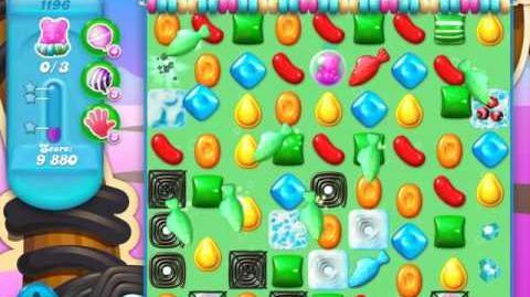 Candy Crush Soda Saga Level 1196 (2nd buffed, 3 Stars)