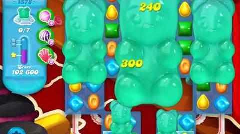Candy Crush Soda Saga Level 1578 (4th version)