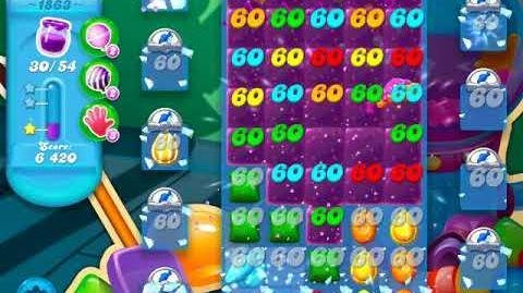 Candy Crush Soda Saga Level 1863 (3 Stars)