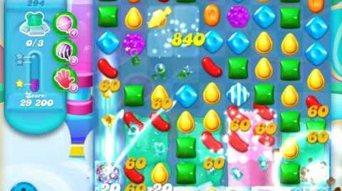 Candy Crush Soda Saga Level 294 (6th version, 3 Stars)