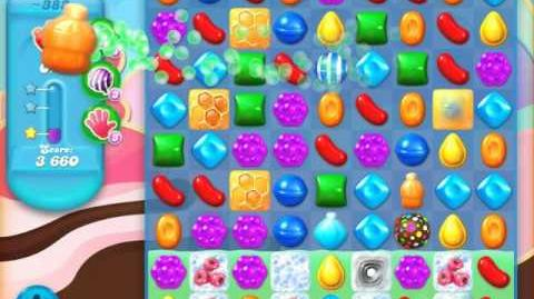 Candy Crush Soda Saga Level 383 (nerfed, 3 Stars)