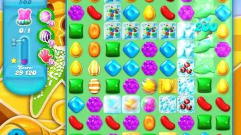 Candy Crush Soda Saga Level 500 (nerfed, 3 Stars)