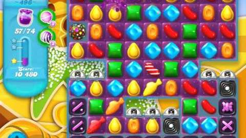 Candy Crush Soda Saga Level 496 (3 Stars)