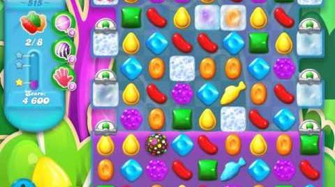 Candy Crush Soda Saga Level 515 (nerfed, 3 Stars)