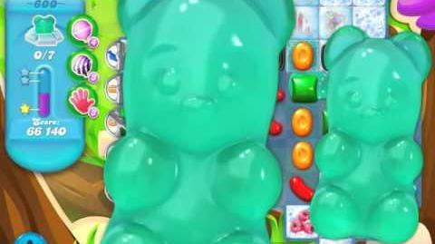 Candy Crush Soda Saga Level 600 (nerfed, 3 Stars)