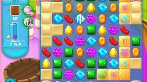 Candy Crush Soda Saga Level 128 (2nd nerfed, 3 Stars)