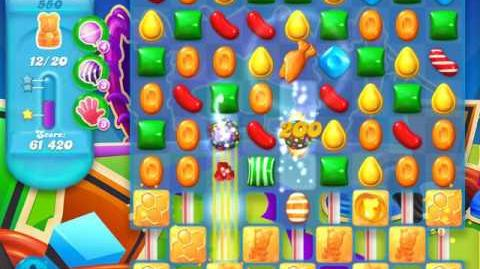 Candy Crush Soda Saga Level 550 (12th version)