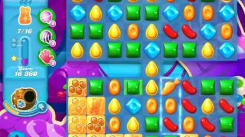Candy Crush Soda Saga Level 624 (nerfed)
