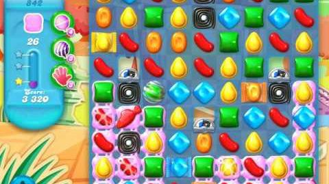 Candy Crush Soda Saga Level 842 (5th version, 3 Stars)