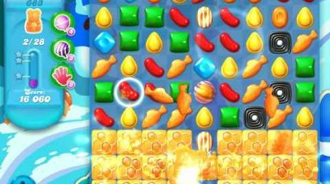 Candy Crush Soda Saga Level 683 (nerfed)