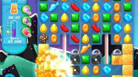 Candy Crush Soda Saga Level 805 (2nd nerfed)