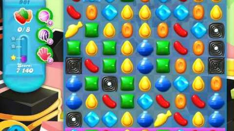 Candy Crush Soda Saga Level 981 (5th version, 3 Stars)