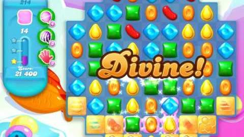 Candy Crush Soda Saga Level 214 (4th version)