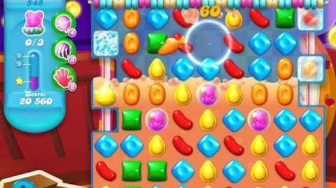 Candy Crush Soda Saga Level 545 (11th version, 3 Stars)
