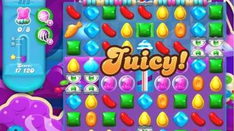 Candy Crush Soda Saga Level 623 (3 Stars)