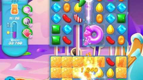 Candy Crush Soda Saga Level 693 (buffed, 3 Stars)