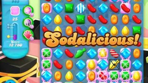 Candy Crush Soda Saga Level 983 (2nd buffed, 3 Stars)