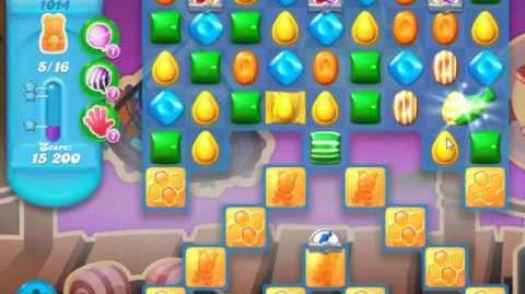 Candy Crush Soda Saga Level 1014 - NO BOOSTERS