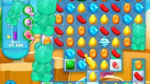 Candy Crush Soda Saga Level 397 (buffed, 3 Stars)
