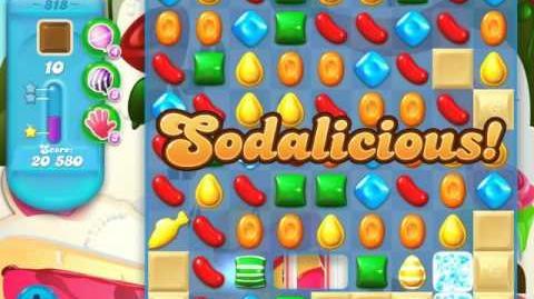 Candy Crush Soda Saga Level 818 (3 Stars)