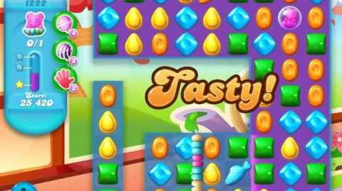 Candy Crush Soda Saga Level 1222 (3 Stars)