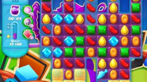 Candy Crush Soda Saga Level 555 (5th version)