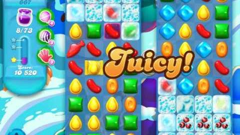 Candy Crush Soda Saga Level 667 (3rd version)