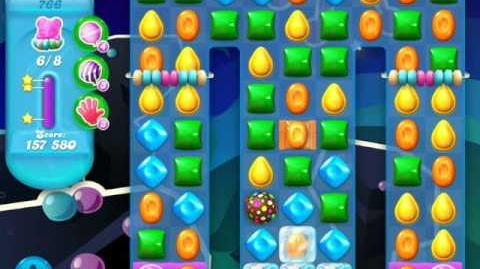 Candy Crush Soda Saga Level 766 (buffed, 3 Stars)