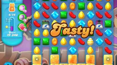 Candy Crush Soda Saga Level 1010 (2nd nerfed, 3 Stars)