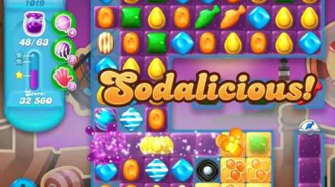 Candy Crush Soda Saga Level 1019 (2nd buffed, 3 Stars)