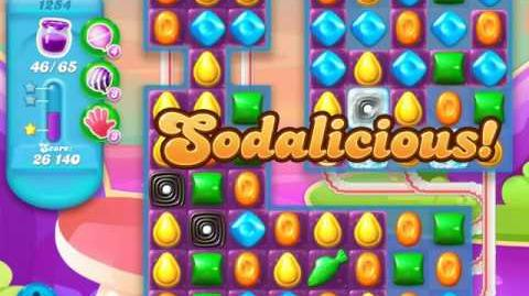 Candy Crush Soda Saga Level 1254 (3 Stars)