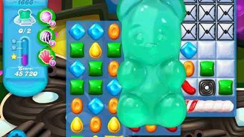 Candy Crush Soda Saga Level 1666